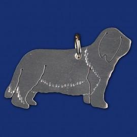Schlüsselanhänger Hund / Bearded Collie