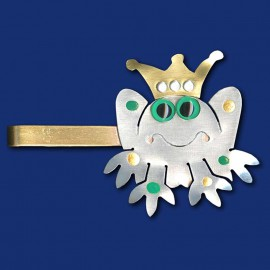Froschkönig Krawattenklammer