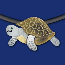 Schildkröte Halskette