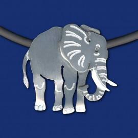 Elefant Schmuckanhänger mit Halskette