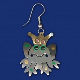 Froschkönig Ohrring