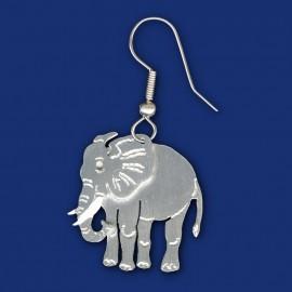 Elefant Ohrring
