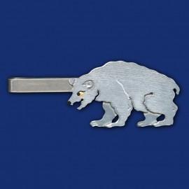Eisbär Krawattenklammer