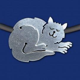 Katze Halskette