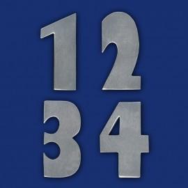 Zimmernummern Metallzahlen für Hotels, Büros, Behandlungsräume