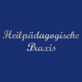Metall-Schriftzug Schreibschrift