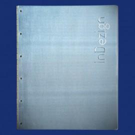 Metallordner aus Aluminium als Präsentationsmappe