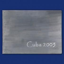 Metallordner aus Aluminium als Fotomappe